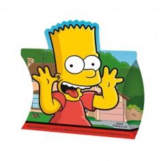 Cajita Sorpresa Cumpleaños Simpsons x 6  Cotillón Simpsons