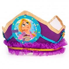 Corona Princesa Rapunzel  Cotillón Rapunzel