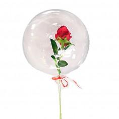 Globo Burbuja Rosa  Globos Diseños