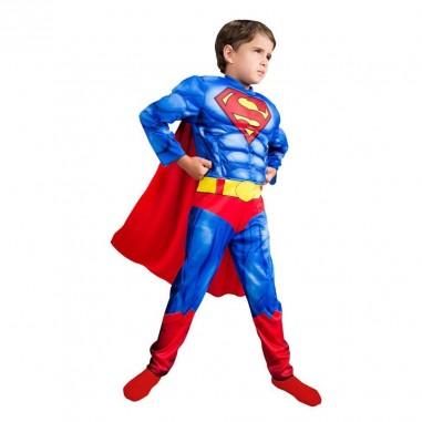 Disfraz Superman con Músculos NIÑO  Disfraces Niñas y Niños