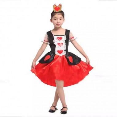 Disfraz Reina de Corazones NIÑA  Disfraces Niñas y Niños