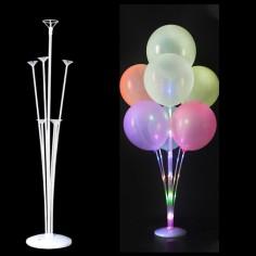 Base Pedestal para Globos LED 70 cms Cotillón Activarte Accesorios Globos