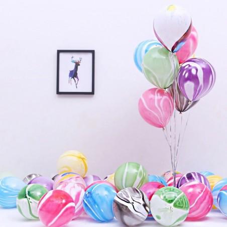 Globos Agata Colores x 12  Globos Diseños