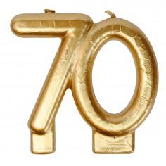 Vela Dorada 70 Años  Velas