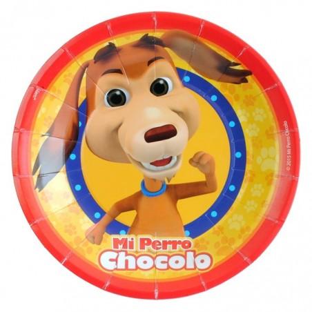 Pack Cumpleaños Perro Chocolo x 6  Cotillón Perro Chocolo