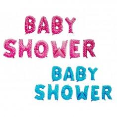 Guirnalda Globos Letras Baby Shower Niño y Niña  Baby Shower y más