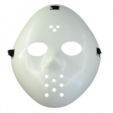 Máscara Jason Blanca  Antifaces y Máscaras