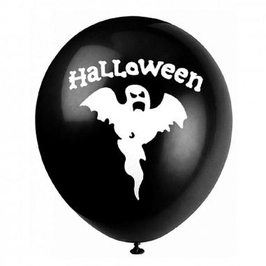 Globos Halloween Fantasma x 6  Decoración Halloween
