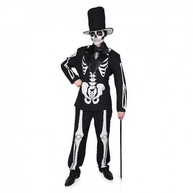 Disfraz Esqueleto Adulto  Disfraz Halloween