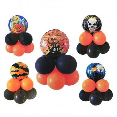 Set Globos Halloween Redondo  Decoración Halloween