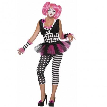 Disfraz Payasa Tricksy Mujer  Disfraces Adultos