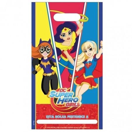 Pack 6 Personas Super Hero Girls  Cotillón Super Hero Girls