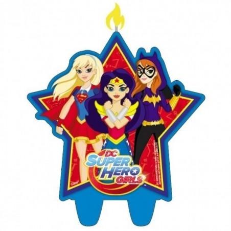 Pack Cumpleaños Super Hero Girls x 12  Cotillón Super Hero Girls