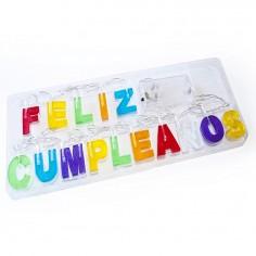 Guirnalda Feliz Cumpleaños Led  Decoración Cumpleaños y Fiestas