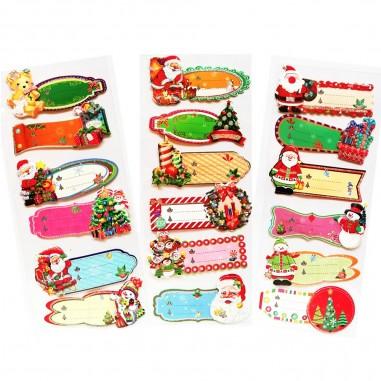 Etiquetas Navidad  Decoración y Cotillón Navidad