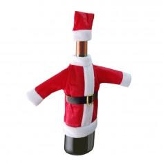 Traje de Santa Copa de Vino  Decoración y Cotillón Navidad