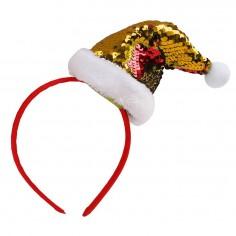 Cintillo Pascuero Lentejuelas  Decoración y Cotillón Navidad