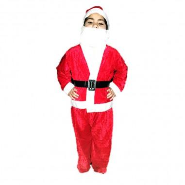 Disfraz Viejo Pascuero Niño  Decoración y Cotillón Navidad