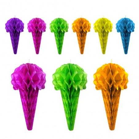 Guirnalda Helados Colores  Guirnaldas y Colgantes