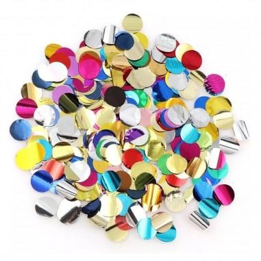 Confetti Brillante Colores 15 gr  Decoración Cumpleaños y Fiestas