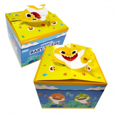 Caja Sorpresa Baby Shark x 6  Cotillón Baby Shark