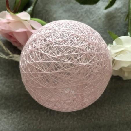Guirnalda Esferas Luces 1,8 m Moka  Decoración Cumpleaños y Fiestas