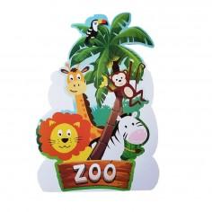 Piñata Cumpleaños Animalitos Cotillón Activarte Cotillón Animalitos