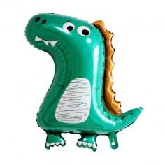 Globo Metálico Dinosaurio Peque  Cotillon Dinosaurio