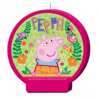 Vela Peppa Pig  Cotillón Peppa Pig