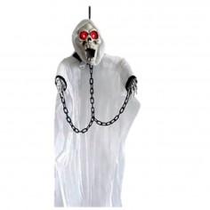 Fantasma Esqueleto Encadenado Luz y Sonido  Decoración Halloween