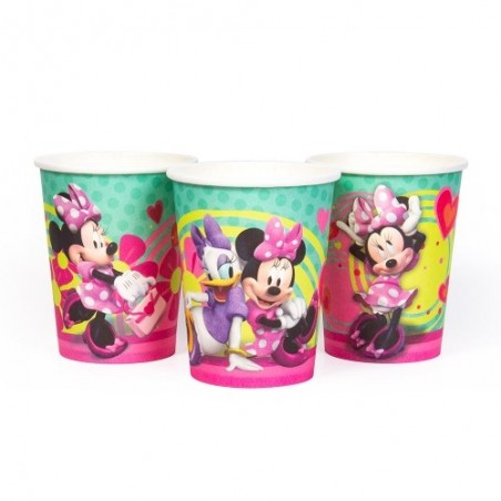 Pack Cumpleaños Minnie Mouse x 12  Cotillón Minnie Mouse