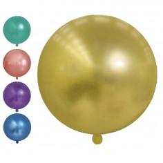 Globo 45 cm Cromo Colores  Globos Lisos