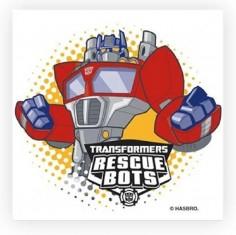 Servilleta Cumpleaños Transformers x 12  Cotillón Transformers