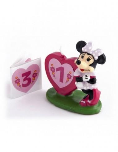 Vela Minnie Mouse 3d  Velas