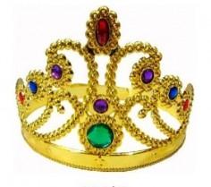 Corona Dorada Piedras  Líneas Cumpleaños
