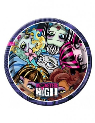 Platos Monster High x 6  Monster High