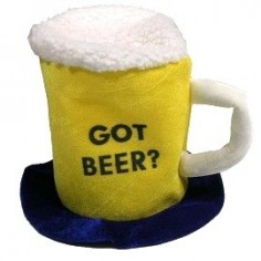 Gorro Cerveza Got Beer  Gorros de Cotillón