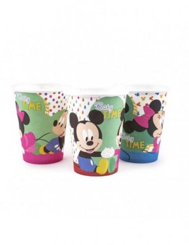 Vaso Disney Baby x 6  Cotillón Disney Baby