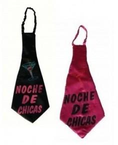 Corbata Noche de Chicas  Corbatas, Corbatines y Bandas