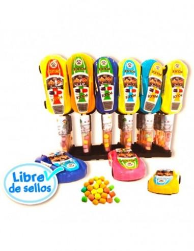 Dulce Candy Sorpresa Autito Policía  Dulces para Sorpresas
