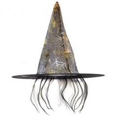 Gorro Bruja con Pelos  Cotillón y Disfraces Halloween