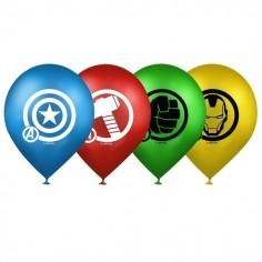 Globo Avengers x 12  Cotillon Avengers