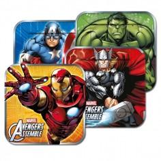 Plato Avengers x 6  Cotillon Avengers