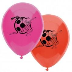 Globo Cumpleaños Ladybug x 12  Cotillón Ladybug