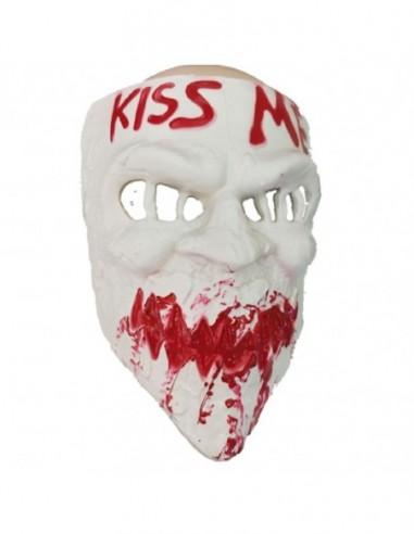 Mascara La Purga Kiss Me  Cotillón y Disfraces Halloween