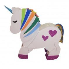 Piñata 3D Cumpleaños Unicornio  Cotillón Unicornio