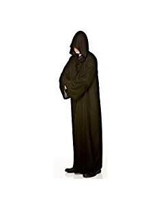 Túnica Halloween con Capucha Negra Disfraz  Disfraces Adultos