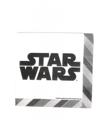 Servilleta Star Wars x 12  Cotillón Star Wars