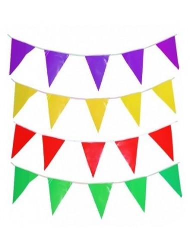 Banderín Cartón Colores  Guirnaldas y Colgantes