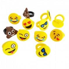Anillo Emoji x 12  Sorpresas